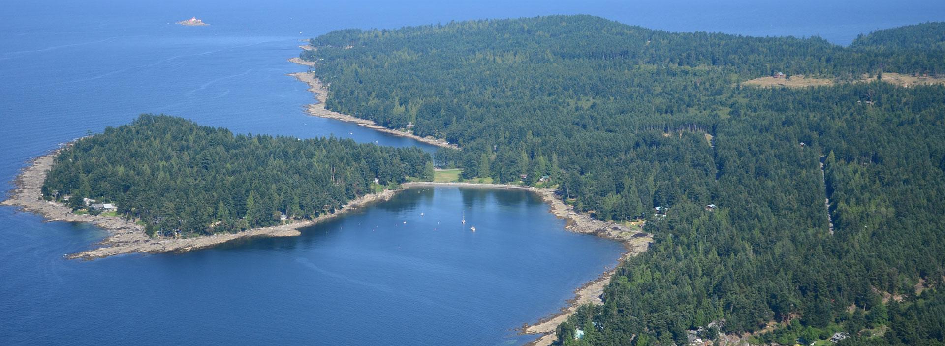 Gabriola Island Aerial