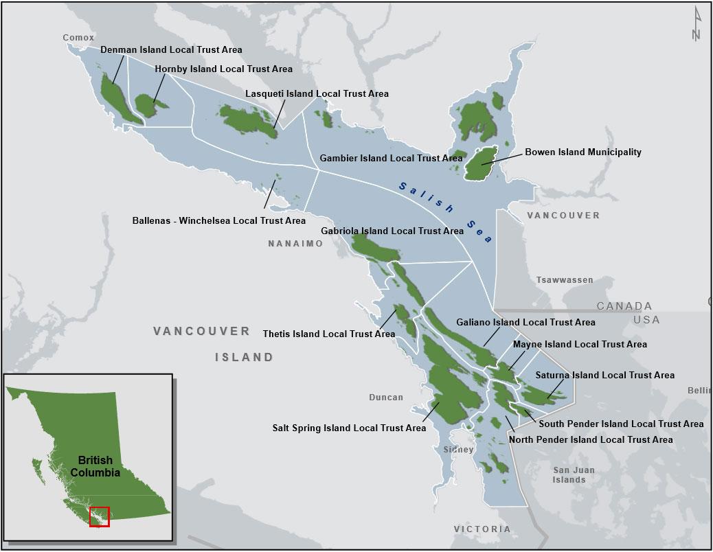 Islands Trust Area
