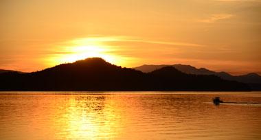Saturna At Sunset